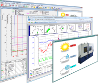 FKS WinControl has a variety of evaluation and visualization capabilities