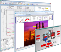 XTR WinControl has a variety of evaluation and visualization capabilities