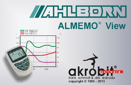ALMEMO View - Measurement, display and analysis of data from Ahlborn measuring devices