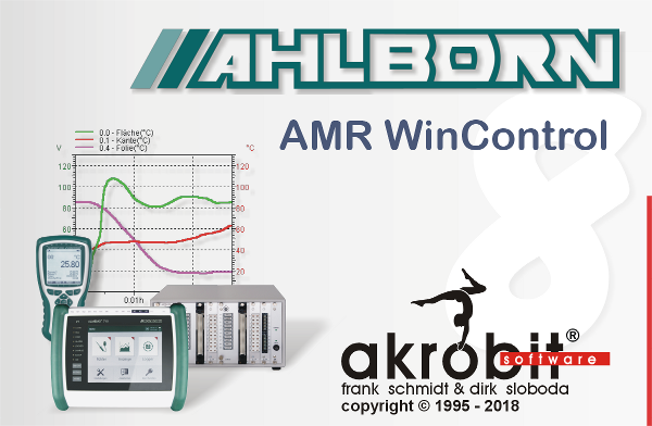 AMR WinControl for universal measuring systems of Ahlborn
