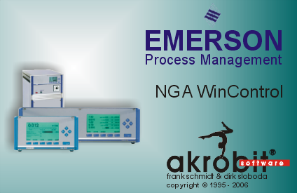 NGA WinControl - Gas analysis using technology of Emerson Process Management